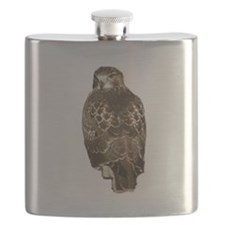Red-tailed Hawk Flask