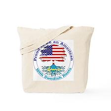 American-Swedish Roots Tote Bag