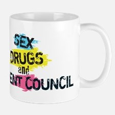 Sex Drugs And Student Council Mug