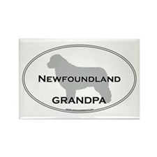 Newfoundland GRANDPA Rectangle Magnet