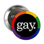 GAY. Button