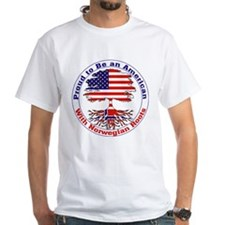 American-Norwegian Roots Shirt