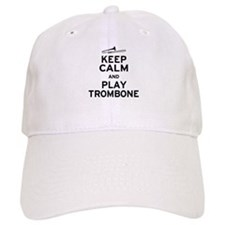 Keep Calm Play Trombone Cap