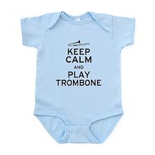 Keep Calm Play Trombone Onesie
