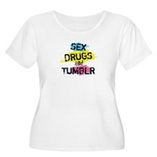 Sex Drugs And Tumblr T-Shirt