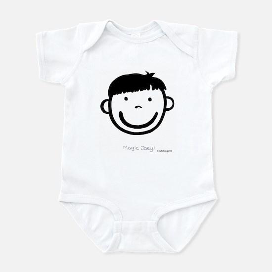 Magic Joey (black) Infant Creeper
