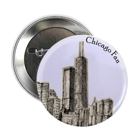 "Chicago Fan 2.25"" Button (10 pack)"