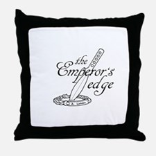 Emperor's Edge Logo Throw Pillow