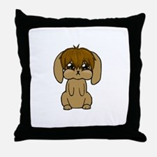 Woobie Sespian Plot Bunny Throw Pillow