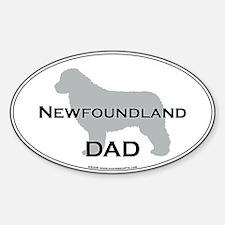Newfoundland DAD Oval Decal