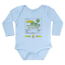 NOM NOM Long Sleeve Infant Bodysuit