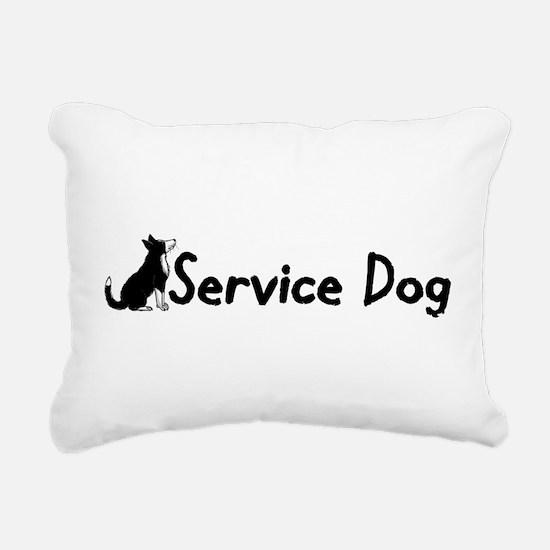 service dog1 Rectangular Canvas Pillow