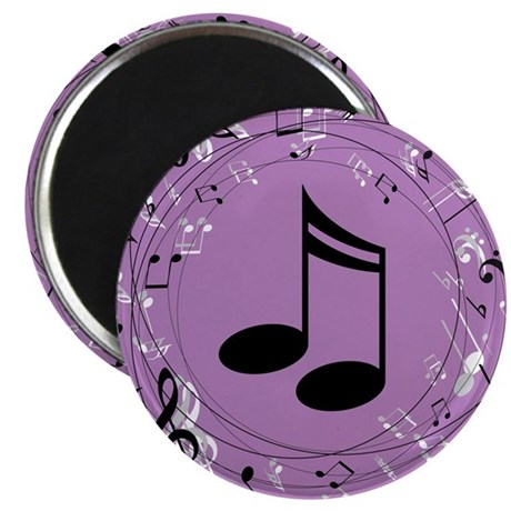 Musician Gift Musical notes Magnet