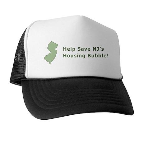 NJ Housing Bubble Trucker Hat