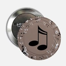 "Music Gift For Teacher or Musician 2.25"" Button"