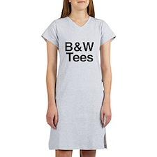 B&W Tees Women's Nightshirt