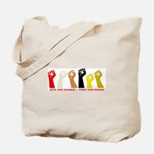 Funny Protesters Tote Bag