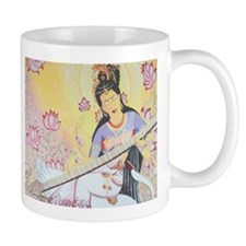 Meditative Sarasvati music Mug