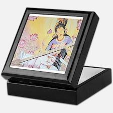 Meditative Sarasvati music Keepsake Box