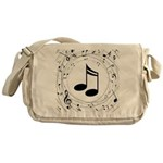 Music Teacher Gift Idea Messenger Bag