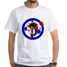 Scooter Rider on Paint Splat Shirt