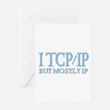 I TCP/IP But Mostly IP Greeting Cards (Package of