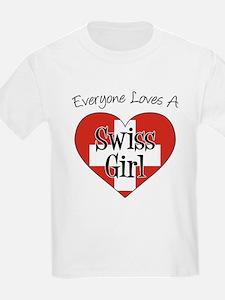 Everyone Loves Swiss Girl T-Shirt