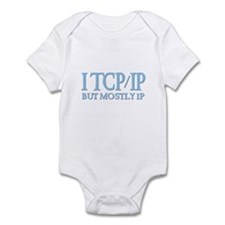 I TCP/IP But Mostly IP Infant Creeper