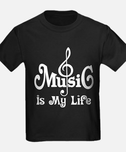 Music Is My Life Quote T