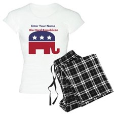 Personalize Die Hard Republican Pajamas