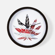American Weed Wall Clock