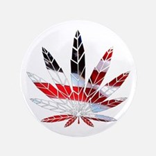 """American Weed 3.5"""" Button"""