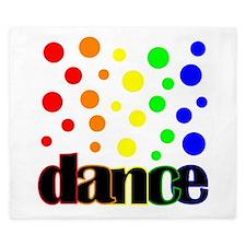 Polka Dot Dance King Duvet