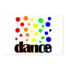 Polka Dot Dance Postcards (Package of 8)