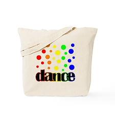 Polka Dot Dance Tote Bag