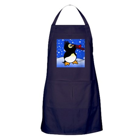 Penguin Band Apron (dark)