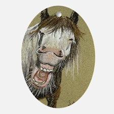 Gypsy Limerick Laughing keepsake Oval Ornament