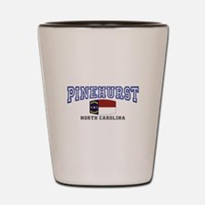 Pinehurst, North Carolina, NC USA Shot Glass
