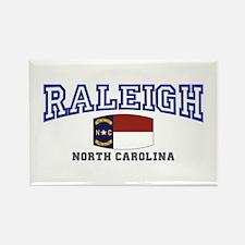 Raleigh, North Carolina, NC USA Rectangle Magnet