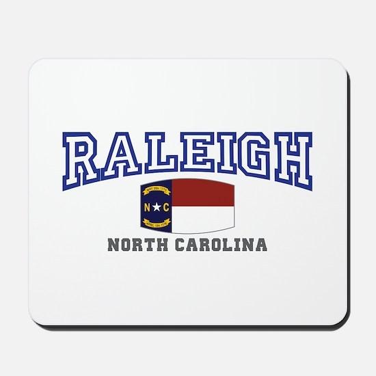 Raleigh, North Carolina, NC USA Mousepad