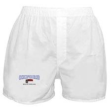 Oxford, North Carolina NC USA Boxer Shorts