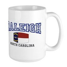 Raleigh, North Carolina, NC USA Mug