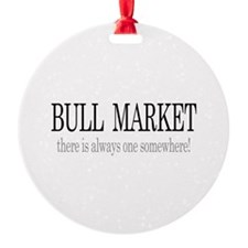 Bull Market Ornament