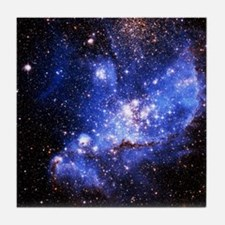 Magellanic Clouds (High Res) Tile Coaster