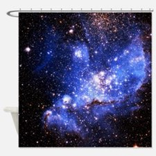 Magellanic Clouds (High Res) Shower Curtain