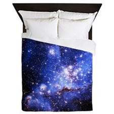 Magellanic Clouds (High Res) Queen Duvet