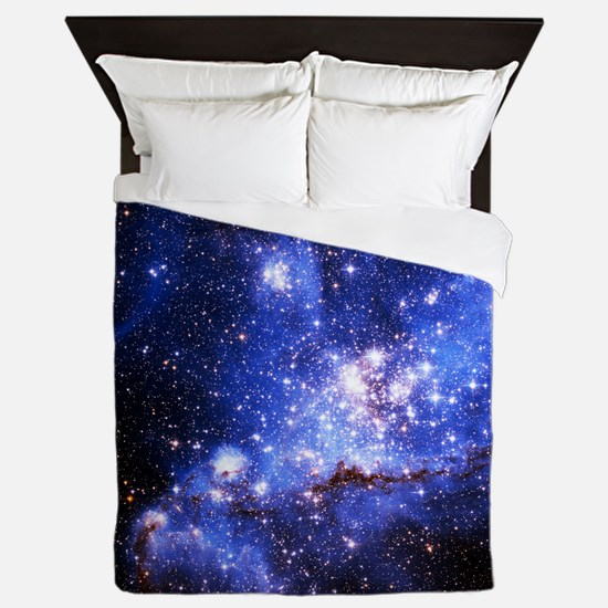 Magellanic Clouds (High Res) Queen Duvet