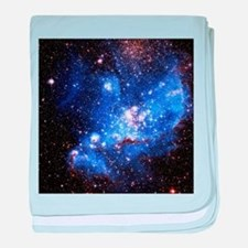 Magellanic Clouds (High Res) baby blanket