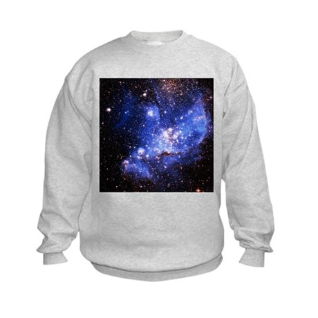Magellanic Clouds (High Res) Kids Sweatshirt