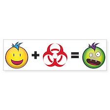 Zombie Formula Bumper Sticker